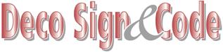 Deco Sign & Code